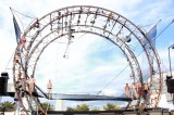 世界各地をめぐる13.5メートルの巨大な舞台装置(C)oricon ME inc.