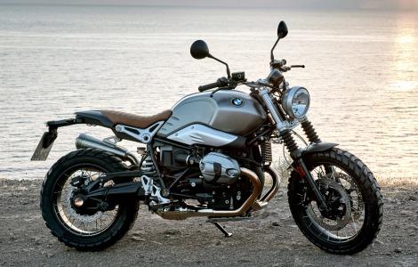 BMWMotorrad �̃w���e�C�W���f���̑�Q�e�A�uBMW R nineT Scrambler�v