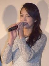 映画『HiGH&LOW THE RED RAIN』初日舞台あいさつに出席した吉本実憂 (C)ORICON NewS inc.