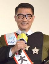 映画『グッドモーニングショー』初日舞台あいさつに登壇した中井貴一 (C)ORICON NewS inc.
