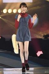 『GirlsAward 2016 AUTUMN/WINTER』に登場したトリンドル玲奈(撮影:鈴木かずなり) (C)oricon ME inc.