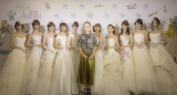 「FOUR SIS & CO.」のウエディングドレスに身を包んだ人気モデル10人とコラボ