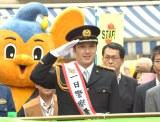 下谷警察署の一日警察署長を務めた尾上松也 (C)ORICON NewS inc.