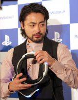 『PlayStation VR』発売記念イベントに出席した山田孝之 (C)ORICON NewS inc.