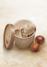 セブン-イレブン限定で発売中のゴディバのカップアイス『ミルクチョコレート マロン』