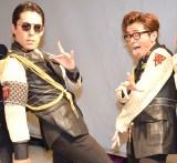 紅白初出場宣言をしたオリエンタルラジオ(左から)中田敦彦、藤森慎吾 (C)ORICON NewS inc.
