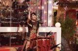 11月3日放送、NHK総合音楽特番『ももクロ和楽器レボリューションZ』で太鼓のソロ演奏に挑戦した百田夏菜子(C)NHK