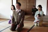NHK連続テレビ小説『べっぴんさん』第12回。戦況が悪化し、近江の坂東本家に疎開することに(C)NHK