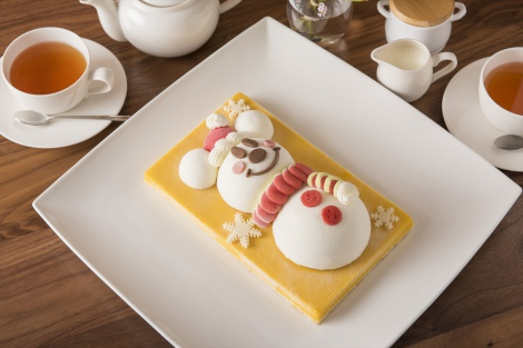 キュートな『スノースノー・アイスケーキ』/(c)Disney