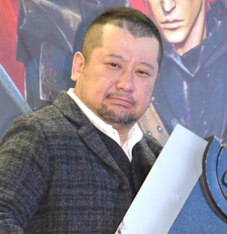 4年ぶりバズーソ役を務めることがわかったケンドーコバヤシ=アクションゲーム『ベルセルク無双』完成発表会 (C)ORICON NewS inc.