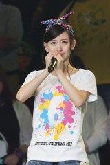 NMB48卒業を発表した上西恵 (C)NMB48
