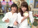 川栄李奈(右)が登坂絵莉選手との2ショットを公開
