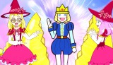 ABC・テレビ朝日系で10月23日放送の『魔法つかいプリキュア』第38話の場面写真より(C)ABC・東映アニメーション