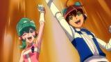 10月29日放送、読売テレビ・日本テレビ系『タイムボカン24』第5話より。トキオとカレンはどんな真歴史と出会うのか(C)タツノコプロ・読売テレビ