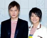 ドラマでコントを披露する(左から)塚本高史、小池徹平 (C)ORICON NewS inc.