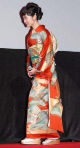 『第29回 東京国際映画祭(TIFF)』オープニングセレモニーに出席した黒木華 (C)ORICON NewS inc.