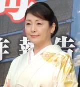 映画『空海—KU-KAI—』製作報告会見に出席した松坂慶子 (C)ORICON NewS inc.