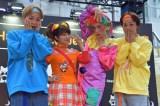 『AbemaTVハロウィンパーティー』(左から)広海、矢口真里、りゅうちぇる、深海 (C)ORICON NewS inc.
