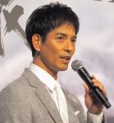 ABC創立65周年記念スペシャルドラマ『氷の轍』の制作発表会見に出席した沢村一樹