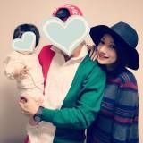 後藤真希がブログで公開した旦那様&第1子との家族ショット(写真はブログより)