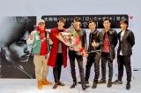 青柳翔のミニライブに劇団EXILEのメンバーも駆けつけた