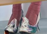 ユニークな靴で登場した藤田ニコル (C)ORICON NewS inc.