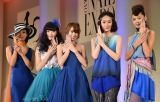 『Tokyo Nails Collection 2017 S/S』の模様 (C)ORICON NewS inc.