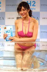 水素入浴剤『H2 Bubble』PRイベントに出席した葉加瀬マイ (C)ORICON NewS inc.