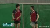 リオ五輪メダリスト、卓球・水谷&吉村選手が人生初のテニスに挑戦