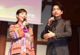 「2016年のヒット人」に選ばれた高畑充希(左)と山崎育三郎 (C)ORICON NewS inc.