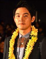 映画『ぼくのおじさん』初日舞台あいさつに登壇した松田龍平 (C)ORICON NewS inc.