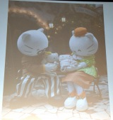 ジョージ・ホワイトが公開したキティちゃんとミミィちゃんの幼少期の写真 (C)ORICON NewS inc.