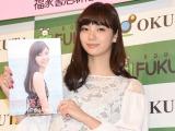 『新川優愛1stフォトブック yua friend+2017CALENDAR』発売イベントを開催した新川優愛 (C)ORICON NewS inc.