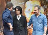 (左から)トム・クルーズ、池松壮亮、エドワード・ズウィック監督 (C)ORICON NewS inc.