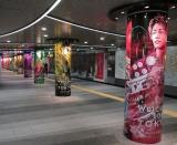 渋谷駅地下コンコースに三代目 J Soul Brothersの新曲ポスターが登場