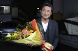 売テレビ・日本テレビ系連続ドラマ『黒い十人の女』がクランクアップを迎えた主演の船越英一郎(C)読売テレビ