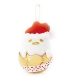 サンリオから発売されたクリスマス限定デザインアイテム『マスコットホルダー(ぐでたま)』(1944円)