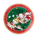 サンリオから発売されたクリスマス限定デザインアイテム『メラミンプレート(ソリ)』(756円)