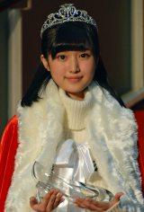 第8回『東宝シンデレラ』オーデションでグランプリに輝いた福本莉子さん (C)ORICON NewS inc.
