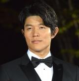 映画『海賊とよばれた男』レッドカーペットに登場した鈴木亮平 (C)ORICON NewS inc.