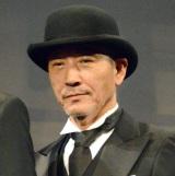 映画『海賊とよばれた男』舞台あいさつに登壇した小林薫 (C)ORICON NewS inc.