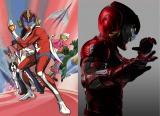 1974年から放送されていたアニメ『破裏拳ポリマー』(左)が実写映画化(右)(C)2017「破裏拳ポリマー」製作委員会