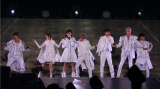 『AAA Special Live 2016 in Dome -FANTASTIC OVER-』の最終公演を行ったAAA(左から)與真司郎、伊藤千晃、宇野実彩子、末吉秀太、西島隆弘、浦田直也、日高光啓