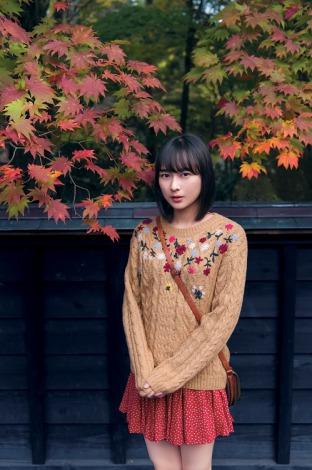 秋っぽさが素敵な鈴木絢音