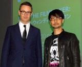 映画『ネオン・デーモン』公開記念トークイベントを行った(左から)N.W.レフン監督、小島秀夫氏 (C)ORICON NewS inc.