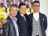 映画『幸福のアリバイ〜Picture〜』囲み取材に出席した(左から)柳葉敏郎、陣内孝則、中井貴一 (C)ORICON NewS inc.