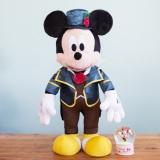 LAST賞『BIG!ミッキーマウス 自立型ぬいぐるみ』(c)Disney