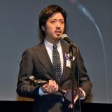 『第8回TAMA映画賞』本年度最も飛躍した男優、顕著な活躍をした新人男優に贈られる最優秀新進男優賞を受賞した若葉竜也(C)ORICON NewS inc.