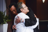 ドラマ『ドクターX』第5話(11月10日)より。このシーンの時、遠藤憲一は「お館様〜」と泣いていた(C)テレビ朝日