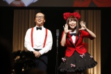 SKE48松村香織&トレンディエンジェルたかしが漫才披露(C)AKS